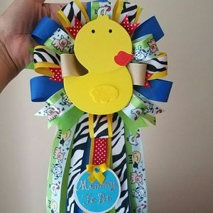 Other - Farm animals baby shower corsage